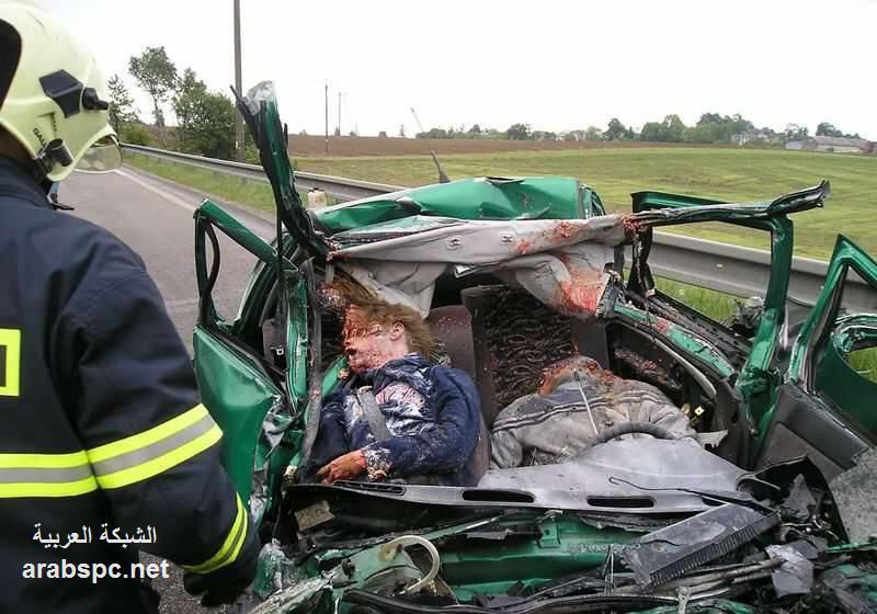 مرعبة حادث مروع .....