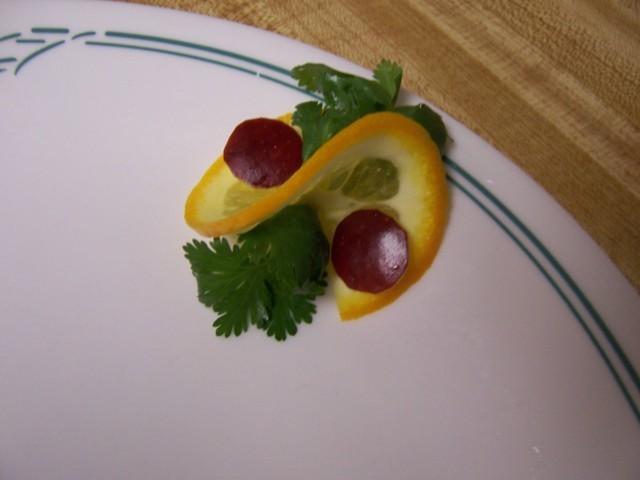 ***طريقة تقطيع الفواكه والتزين بها***