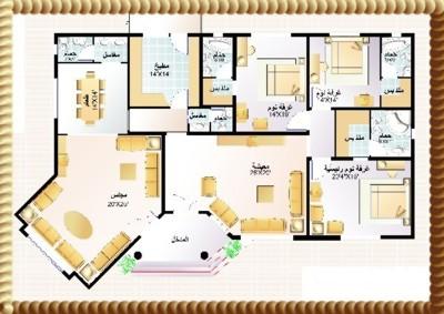 مخطط تصاميم سعودي بيوت سعودية عصرية مخططات خرائط هندسية بيوت سكنية سعودية