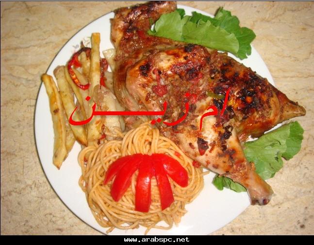 طريقة الدجاج بالصور