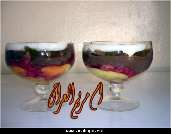 ✿* حلى متميز*✿الترايفل (حلو الطبقات) من ام مريم طبق حلو ومغذي ولذليذ Ae5da33adf