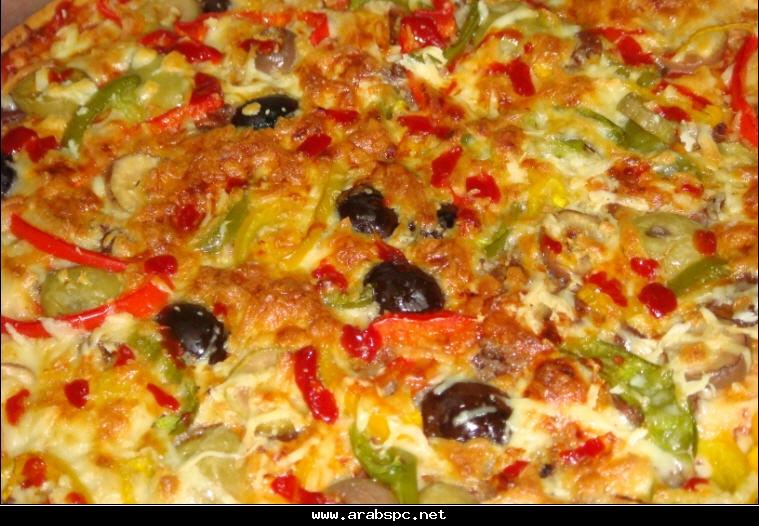 عمل البيزا بالصور و الشرح الكامل................بصحتكم C7d3b3e10c