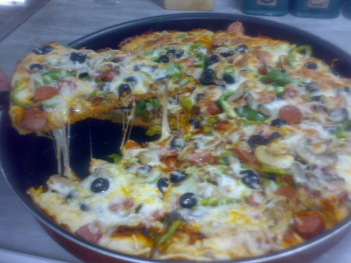 بيتزا بتشهي